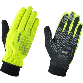 GripGrab Ride Windproof Hi-Vis Thermal Hi-Vis Windbestendige Winterhandschoenen, fluo yellow
